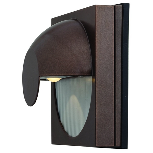 Access Lighting Modern LED Outdoor Wall Light in Bronze Finish 23061LEDMG-BRZ