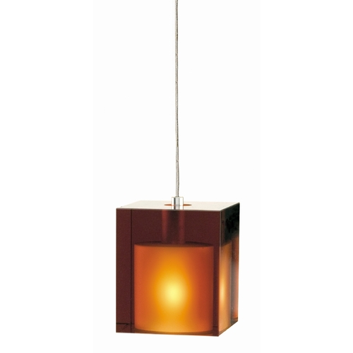 Tech Lighting Cube Mini-Pendant 700-FJCUBAS/700-FJ4RFS KIT