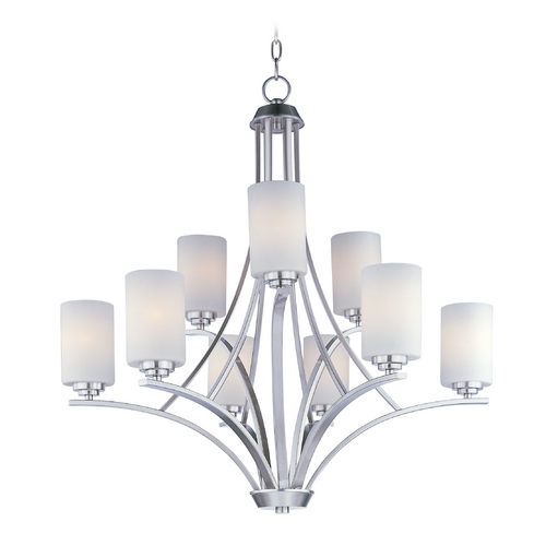 Maxim Lighting Maxim Lighting Deven Satin Nickel Chandelier 20036SWSN
