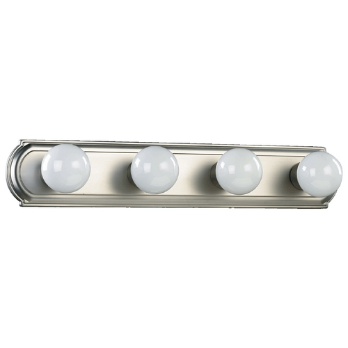 Quorum Lighting Quorum Lighting Satin Nickel Bathroom Light 5049-4-65