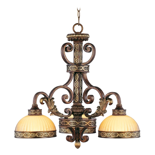 Livex Lighting Livex Lighting Seville Palacial Bronze with Gilded Accents Chandelier 8523-64
