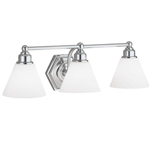 Norwell Lighting Norwell Lighting Jenna Brush Nickel Bathroom Light 8533-BN-OP