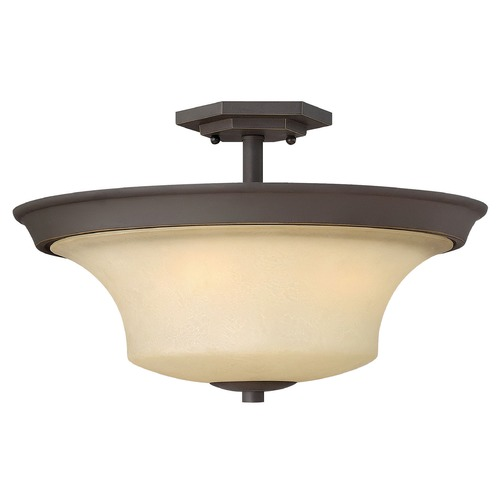 Hinkley Lighting Hinkley Lighting Brantley Oil Rubbed Bronze LED Semi-Flushmount Light 4632OZ-LED