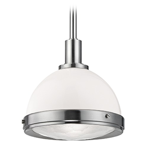 Hudson Valley Lighting Dalton 1 Light Pendant Light - Satin Nickel 7911-SN