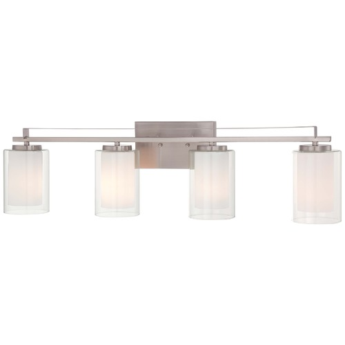 Minka Lavery Minka Parsons Studio Brushed Nickel Bathroom Light 6104-84