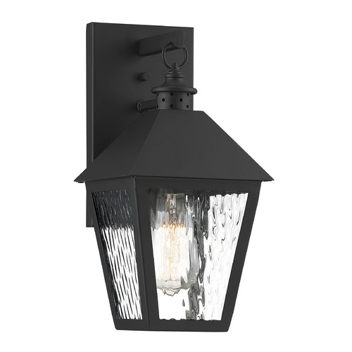 Savoy House Savoy House Lighting Harrison Matte Black Outdoor Wall Light 5-790-BK