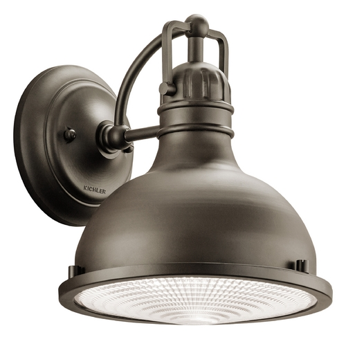 Industrial Style LED Outdoor Wall Light With Fresnel