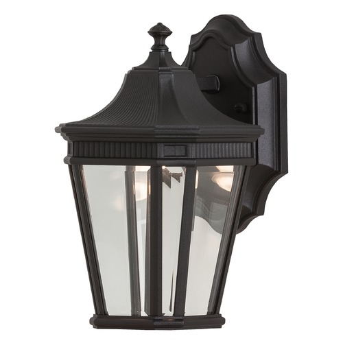 Feiss Lighting Feiss Lighting Cotswold Lane Black LED Outdoor Wall Light OL5400BK-LED