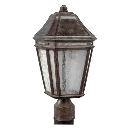 Feiss Lighting Feiss Lighting Londontowne Weathered Chestnut LED Post Light OL11307WCT-LED