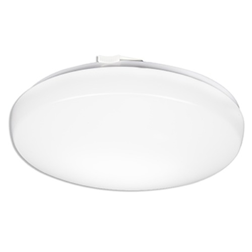 Lithonia Lighting Lithonia Lighting Matte White LED Flushmount Light FMLRL1420830M4