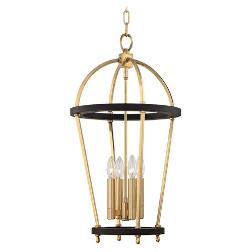 Hudson Valley Lighting Hudson Valley Lighting Chesterfield Aged Brass Pendant Light 8413-AGB