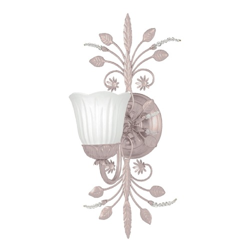 Crystorama Lighting Crystorama Lighting Primrose Blush Sconce 4741-BH