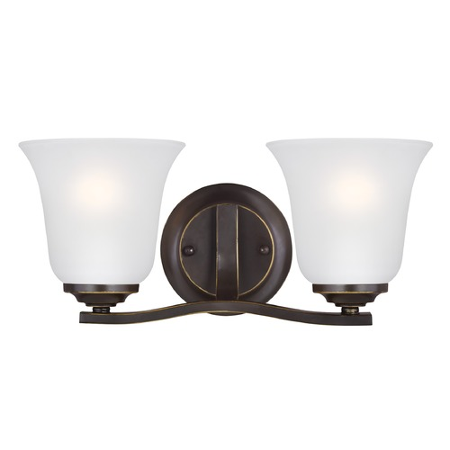 Sea Gull Lighting Sea Gull Lighting Emmons Heirloom Bronze LED Bathroom Light 4439002EN3-782