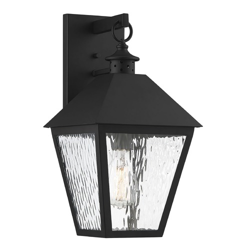 Savoy House Savoy House Lighting Harrison Matte Black Outdoor Wall Light 5-791-BK