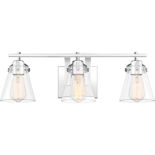 Quoizel Lighting Quoizel Lighting Sabine Polished Chrome Bathroom Light SAB8622C
