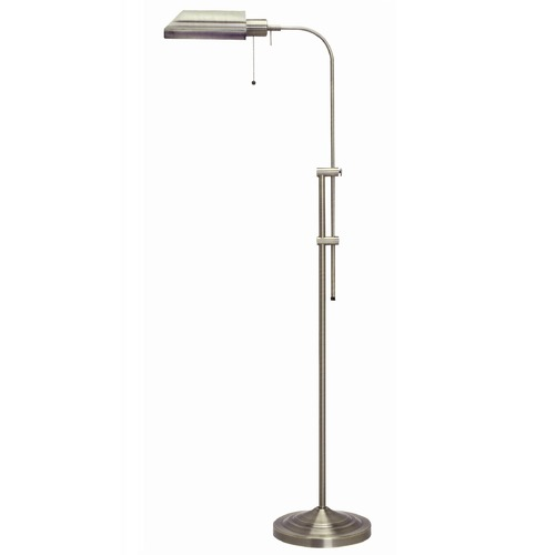 CAL Lighting Adjustable Pharmacy Floor Lamp BO-117FL-BS