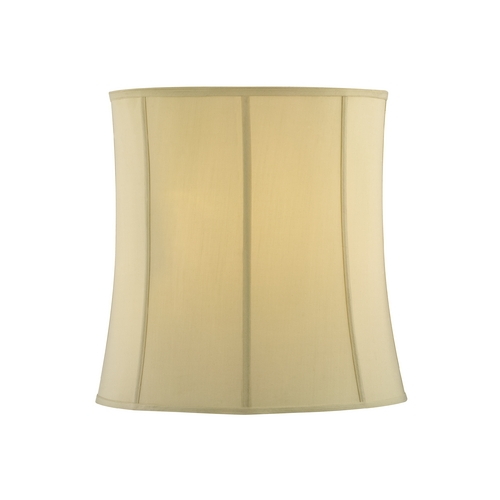 Design Classics Lighting Cream Silk Drum Lamp Shade with Deep Spider Assembly SH9572