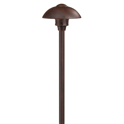 Hinkley Path Light in Southern Clay Finish 1544SC
