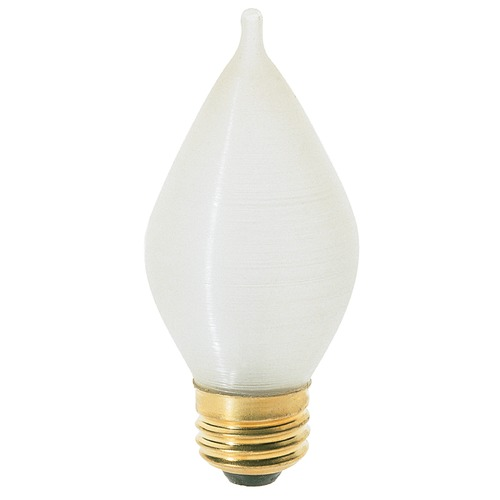 Satco Lighting Incandescent C15 Light Bulb Medium Base 120V Dimmable by Satco S3413