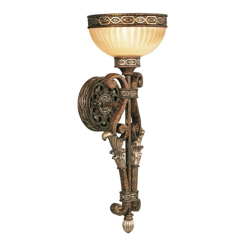 Livex Lighting Livex Lighting Seville Palacial Bronze with Gilded Accents Sconce 8521-64