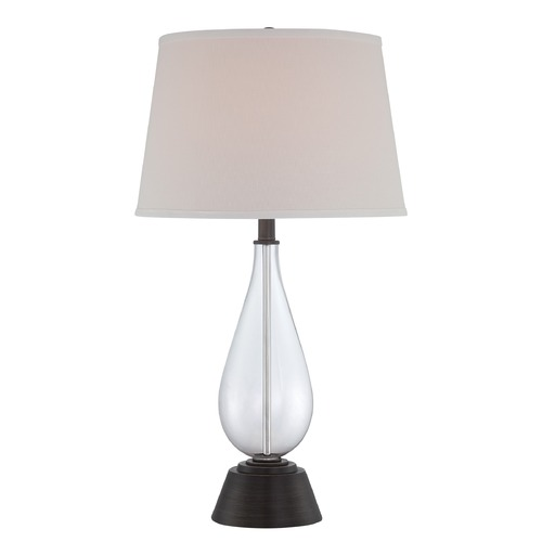 Lite Source Lighting Lite Source Lighting Pello Dark Bronze Table Lamp with Empire Shade LS-22676