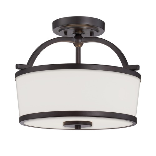 Savoy House Savoy House English Bronze Semi-Flushmount Light 6-4382-2-13