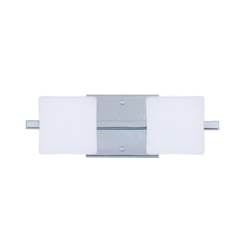Besa Lighting Besa Lighting Alex Chrome LED Bathroom Light 2WS-773507-LED-CR