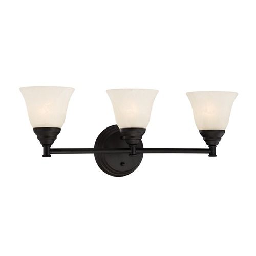 Designers Fountain Lighting Designers Fountain Kendall Oil Rubbed Bronze Bathroom Light 85103-ORB