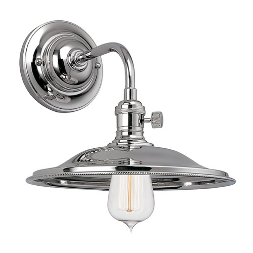 Hudson Valley Lighting Sconce Wall Light in Polished Nickel Finish 8000-PN-MS2