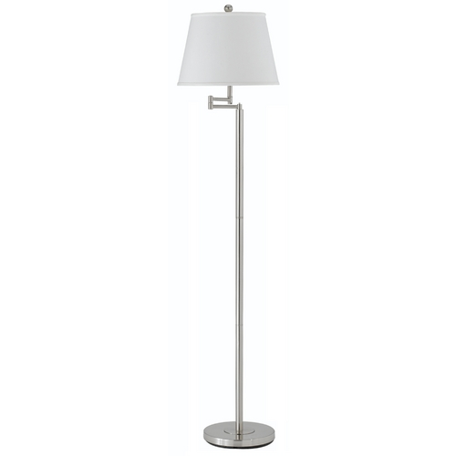 CAL Lighting Swing-Arm Floor Lamp with Shade BO-2077SWFL/SH-1248