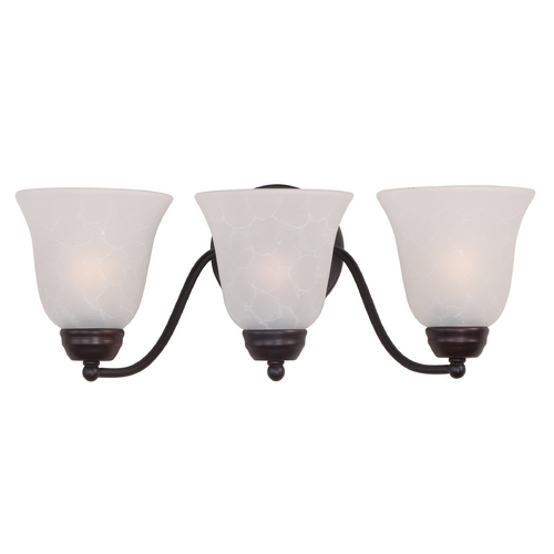 Maxim Lighting Maxim Lighting Basix Oil Rubbed Bronze Bathroom Light 2122ICOI