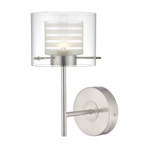 Lite Source Lighting Lite Source Lighting Vito Polished Steel LED Wall Lamp LS-16247