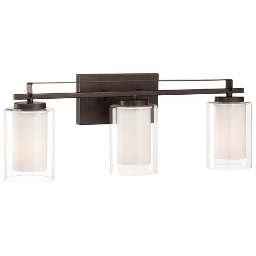 Minka Lavery Minka Parsons Studio Smoked Iron Bathroom Light 6103-172