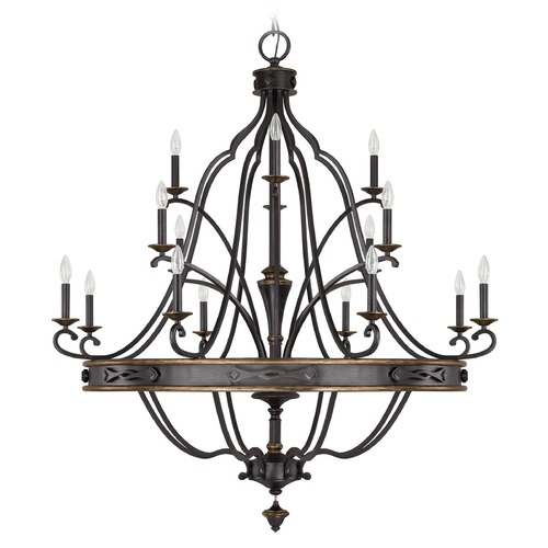Capital Lighting Capital Lighting Wyatt Surrey Chandelier 4256SY-000