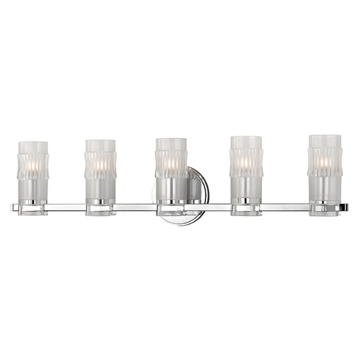 Hudson Valley Lighting Malone 5 Light Bathroom Light - Polished Chrome 2025-PC