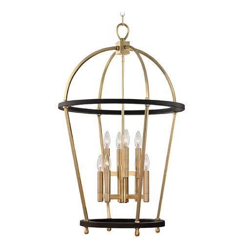 Hudson Valley Lighting Hudson Valley Lighting Chesterfield Aged Brass Pendant Light 8423-AGB