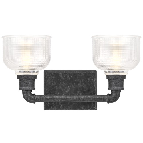 Quoizel Lighting Quoizel Lighting Boomer Old Black Bathroom Light BOO8616OK