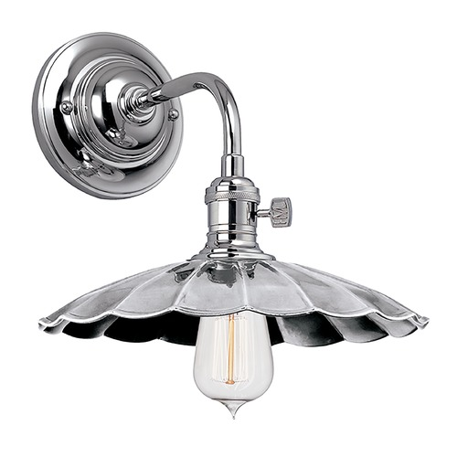 Hudson Valley Lighting Heirloom Polished Nickel Sconce 8000-PN-MS3