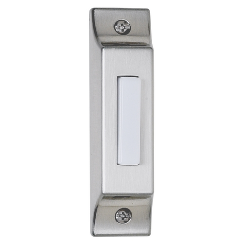 Craftmade Lighting Lighted Surface Mount Doorbell Button BSCB-PW