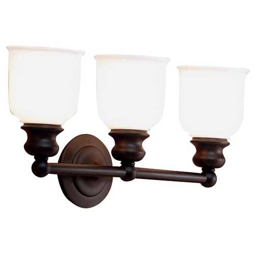 Hudson Valley Lighting Three-Light Bathroom Vanity Light 2303-OB