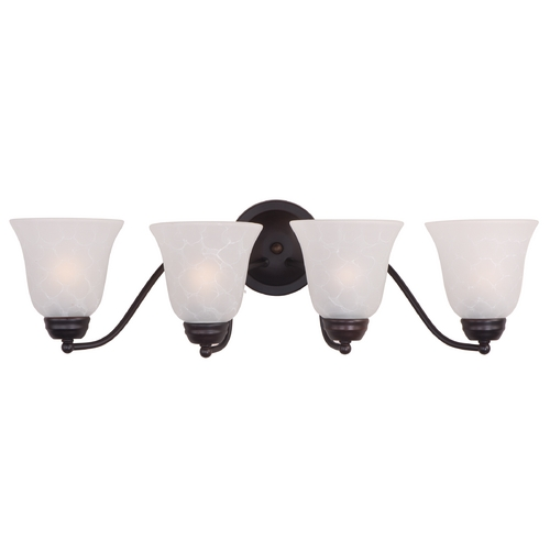Maxim Lighting Maxim Lighting Basix Oil Rubbed Bronze Bathroom Light 2123ICOI