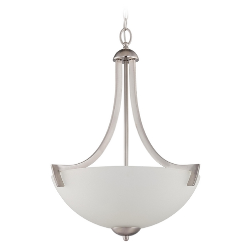 Craftmade Lighting Craftmade Hartford Satin Nickel Pendant Light 37743-SN