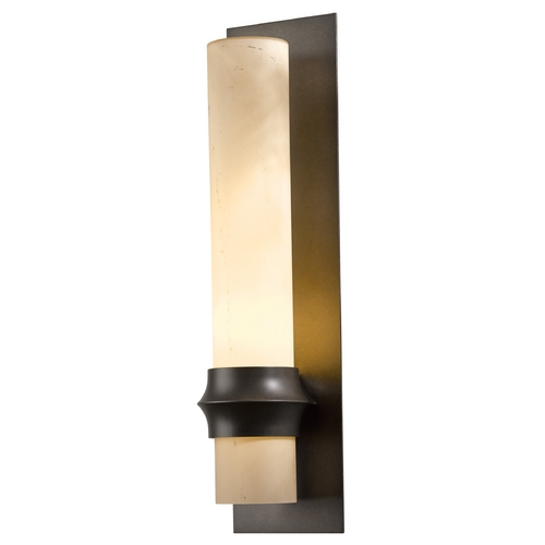 Hubbardton Forge Lighting Hubbardton Forge Lighting Rook Dark Smoke Outdoor Wall Light 304935-07-H319