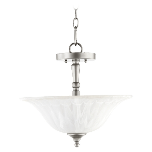 Quorum Lighting Quorum Lighting Randolph Classic Nickel Pendant Light 2894-16-64