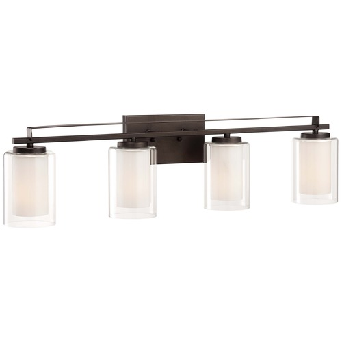 Minka Lighting Minka Parsons Studio Smoked Iron Bathroom Light 6104-172