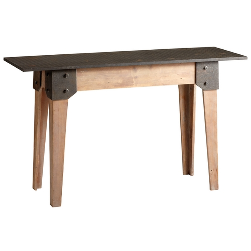 Cyan Design Cyan Design Mesa Raw Iron & Natural Wood Table 04950