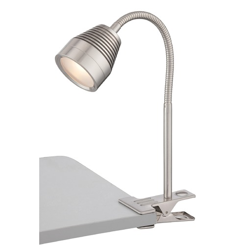 Lite Source Lighting Lamp Shade with Clip-On Lamp Assembly LS-22680PS