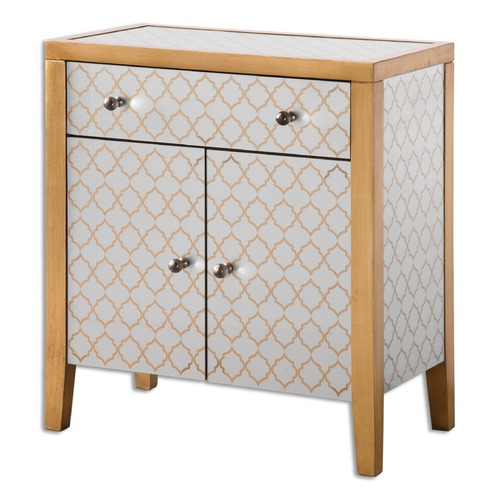 Uttermost Lighting Uttermost Karolina Mirrored Accent Chest 24499