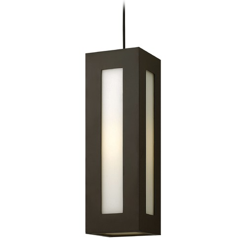 Hinkley Lighting Hinkley Lighting Dorian Bronze LED Outdoor Hanging Light 2192BZ-LED