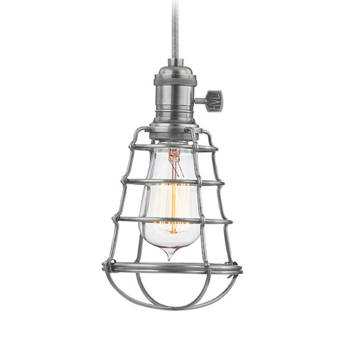 Hudson Valley Lighting Hudson Valley Lighting Heirloom Historic Nickel Mini-Pendant Light 8002-HN-WG